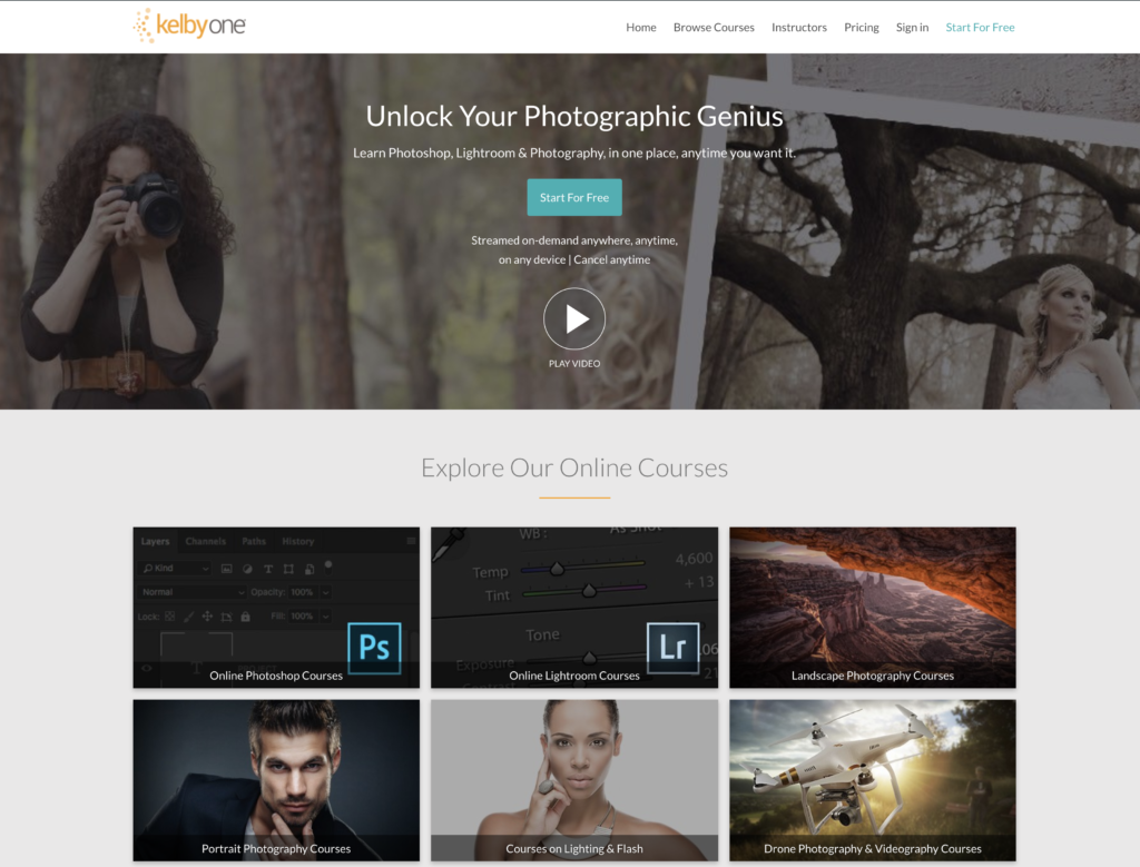 Kelby one content creators portal